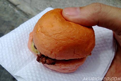 burger crayon