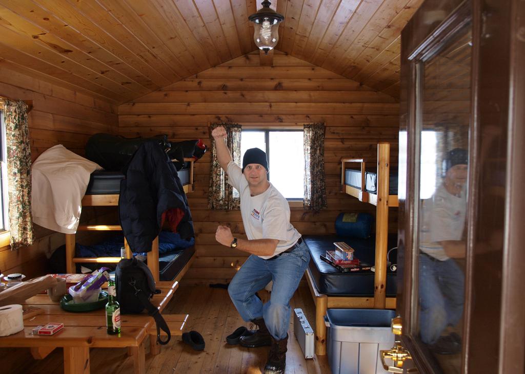 Nu2photo Winter Camping Glendalough State Park