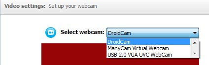 DroidCam Membuat Device Webcam Android untuk Video Call