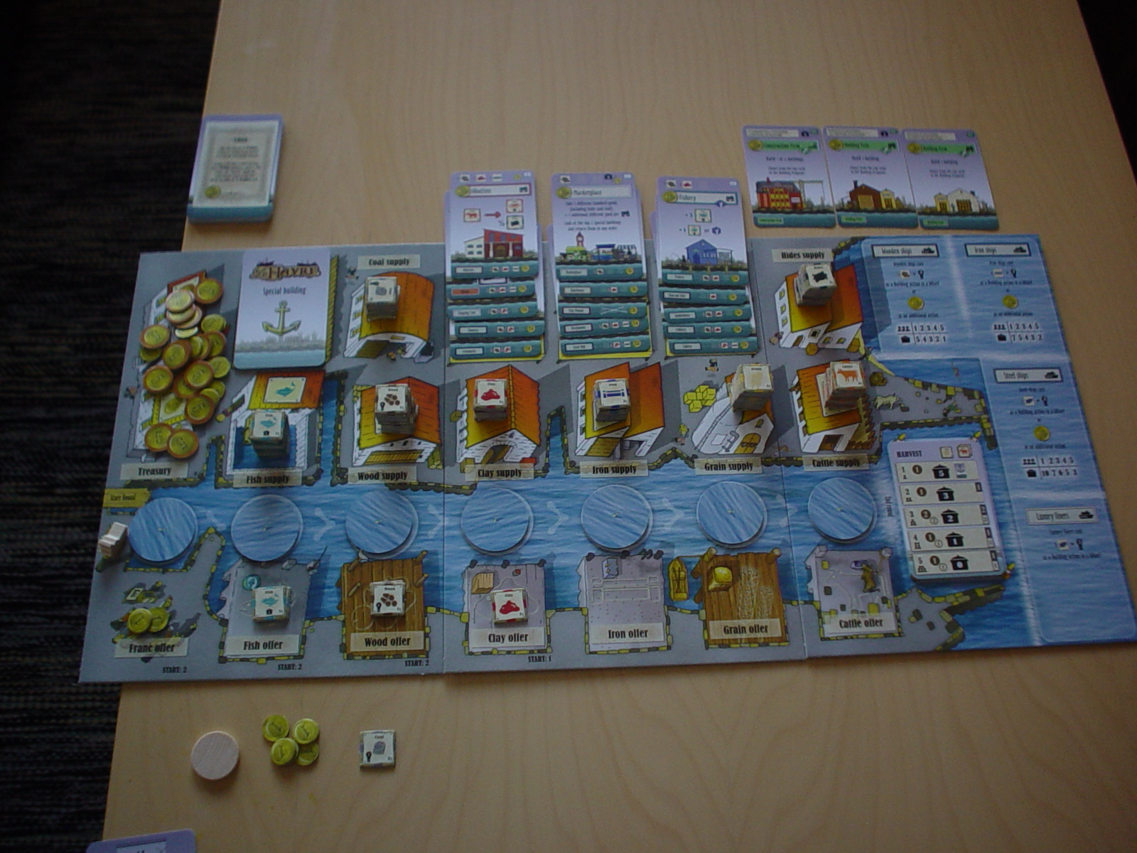 Board Games for One: Le Havre