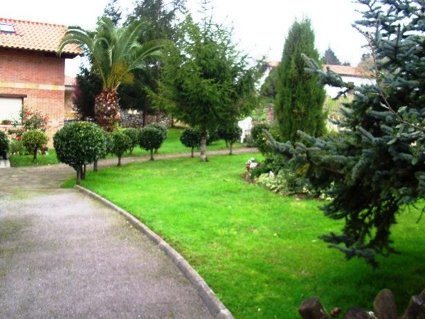 Avemar casa rural con piscina en santillana del mar cantabria el jard n - Pinos para jardin ...