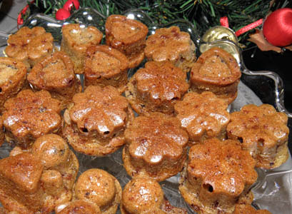 mini muffinki czekoladowe