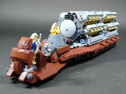 Boris Bricks: LEGO Star Wars Troop Carrier MOC