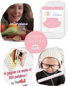papa-maman-evian interview e-box 100% hipster appli gouzi polabox cadeau à l'intérieur