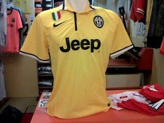 Jual Jersey Juventus Away 2014 Warna Kuning