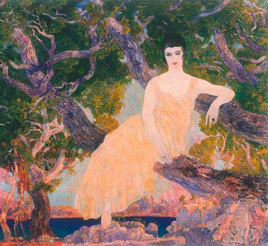 Hermen Anglada-Camarasa - Adelina del Carril de Güiraldes, 1920-1922