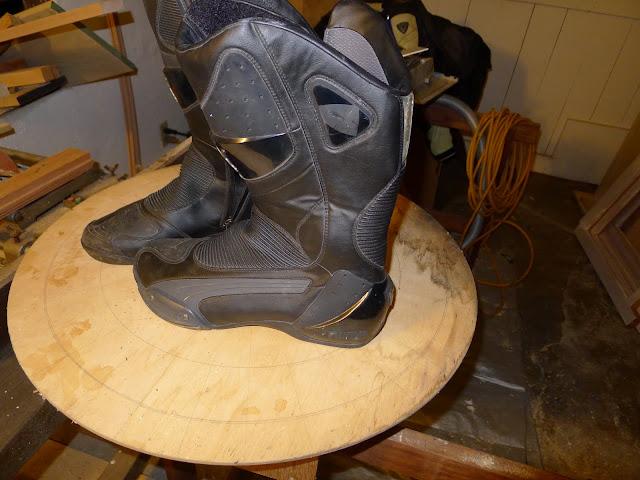 Apuesta niebla Lamer  Puma Desmo GTX boots, Oxtar infinity boots, size 44 - BARF - Bay Area  Riders Forum