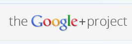 The Google+ Project Logo