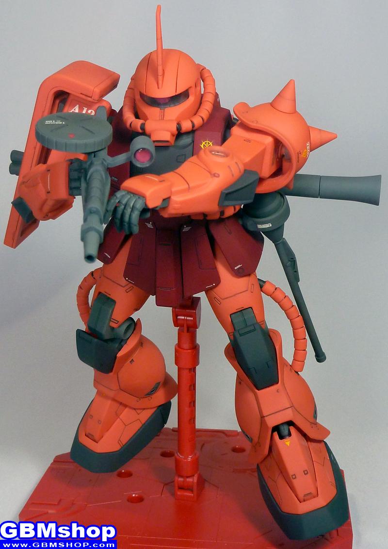 Bandai MG 1/100 MS-06S Zaku II Commander Type Version 1 Char Aznable custom
