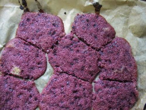 Purple Splodges Lammas Baking Failure