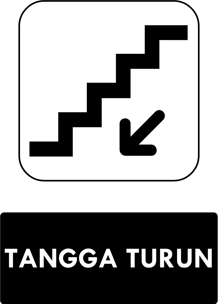 Rambu Tangga Turun