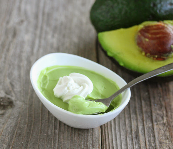 photo of a bowl of Avocado Coconut Mousse