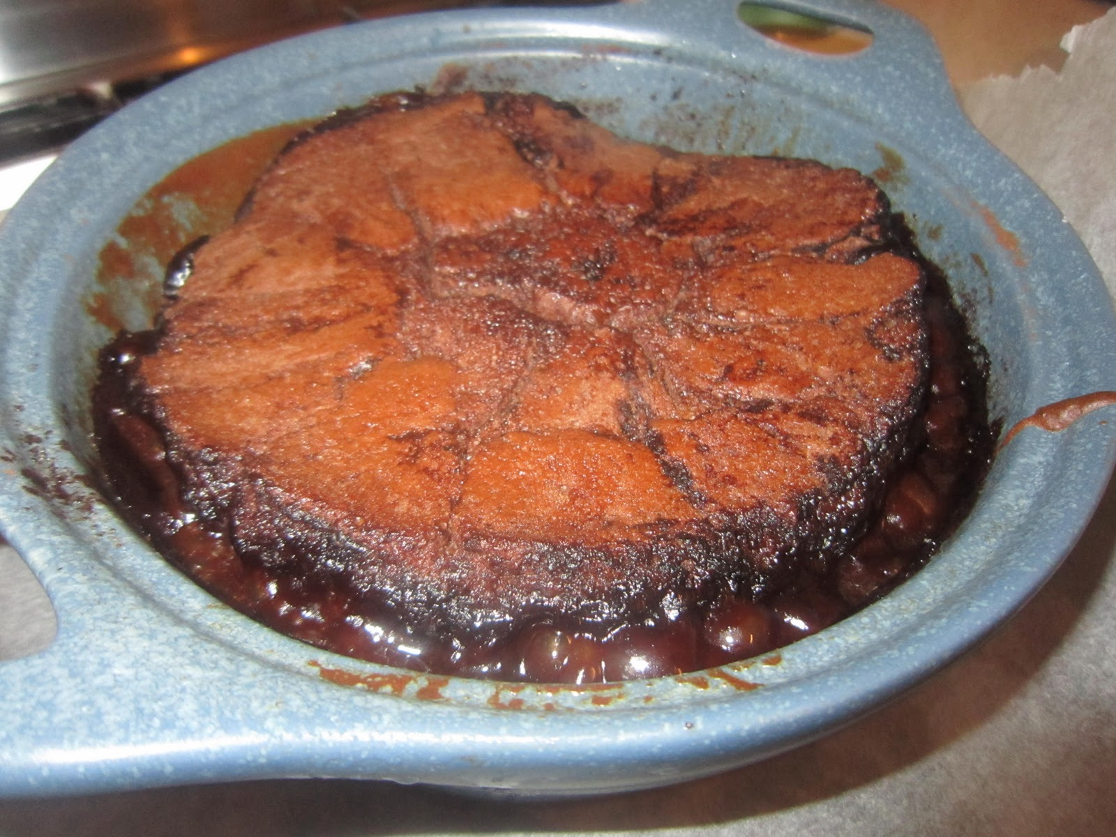 Cwa chocolate self saucing pudding