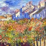Til·lers a Poissy - E. Monet