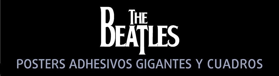 The Beatles Posters Adhesivos Gigantes - Cuadros The Beatles - Arteygraficadigital