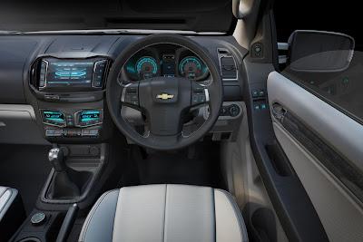 Chevrolet Colorado Concept (2011) Interior 3