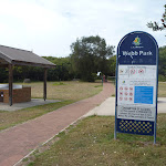 Webb Park sign in Redhead and near the Owens Walkway (391286)