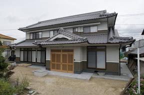 入母屋造り和風建築×空調設備の家