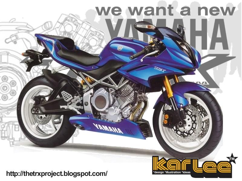 The TRX Project  The Yamaha TRX 850 blog  New Yamaha TRX concepts