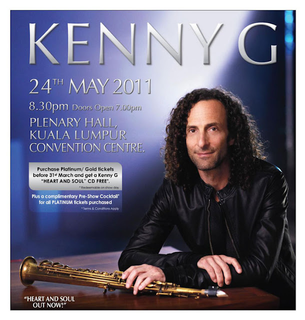 Malaysia Kenny G Live Concert