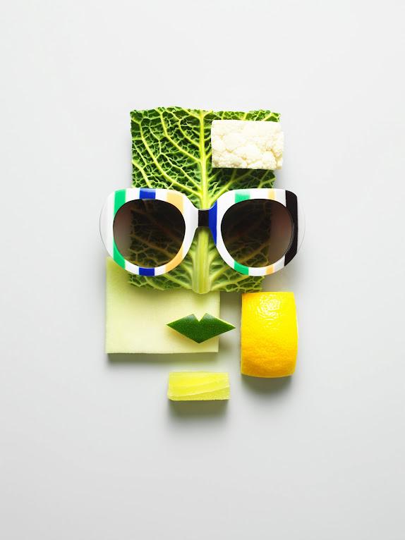 *果臉眼鏡展示架:瑞典藝術家 Philip Karlberg 抽象視覺成列 ! 1
