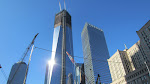 Decided to check out Ground Zero - this here is the Freedom Tower under construction.  Much higher than last time we were down here.