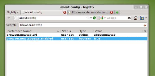 Firefox Nightly: è arrivata la Nuova Scheda con i siti più ...