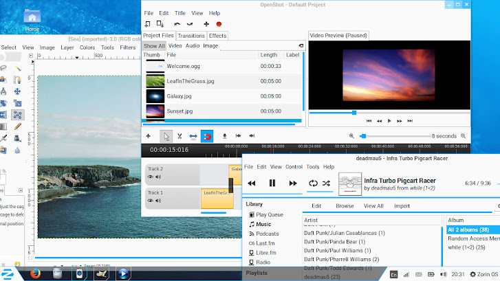 Zorin OS Media apps