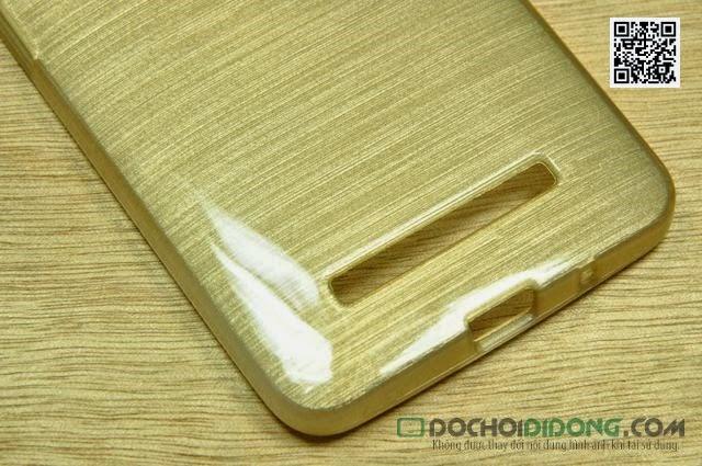 Ốp lưng Asus Zenfone 5 dẻo vân kim loại