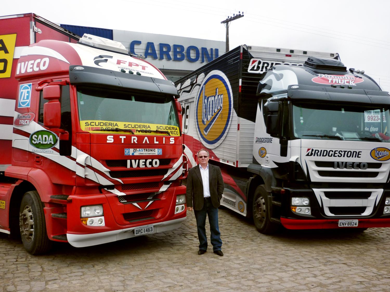 Equipe Scuderia Iveco da Fórmula Truck passou pela Carboni Iveco de Concórdia P1060335