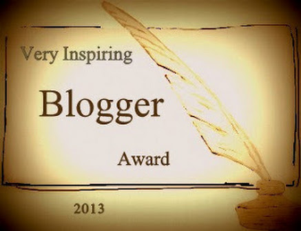 Very Inspiring Blogger Award 2013
