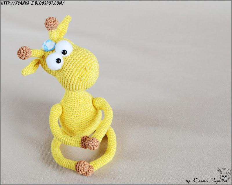 Амигуруми, вязаные игрушки, игрушки спицами, игрушки крючком, вязаный жираф, жираф крючком, Amigurumi, crocheted toys, Knitting toys, crochet giraffe