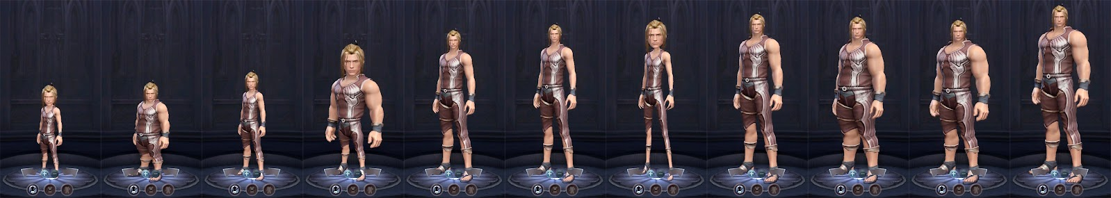 Aion Male Physique