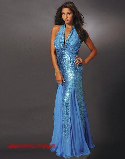 blau kleider  cocktailkleider abendkleider