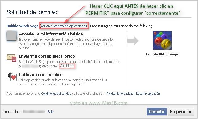 Apps Facebook 2012 permisos