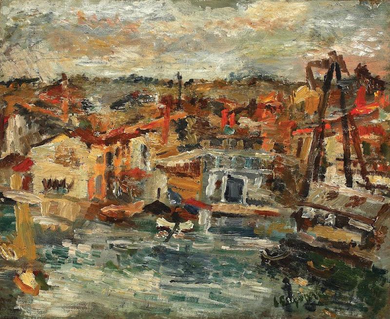 Lucian Grigorescu - Portul Martigues.