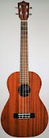 Koloa High Gloss Mahogany Acoustic Baritone