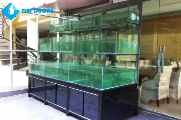 dàn hồ hải sản nhà hàng hào bàng 9