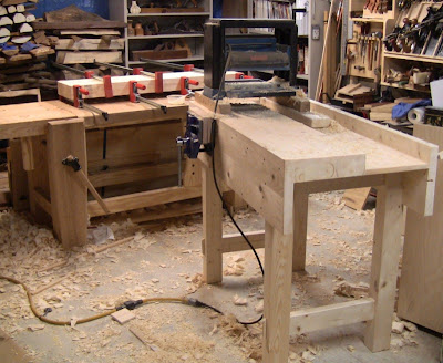 Building A Paul Sellers Workbench - Close Grain