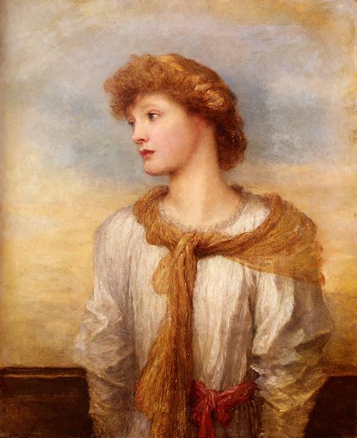 George Frederick Watts - Portrait Of Miss Lilian Macintosh