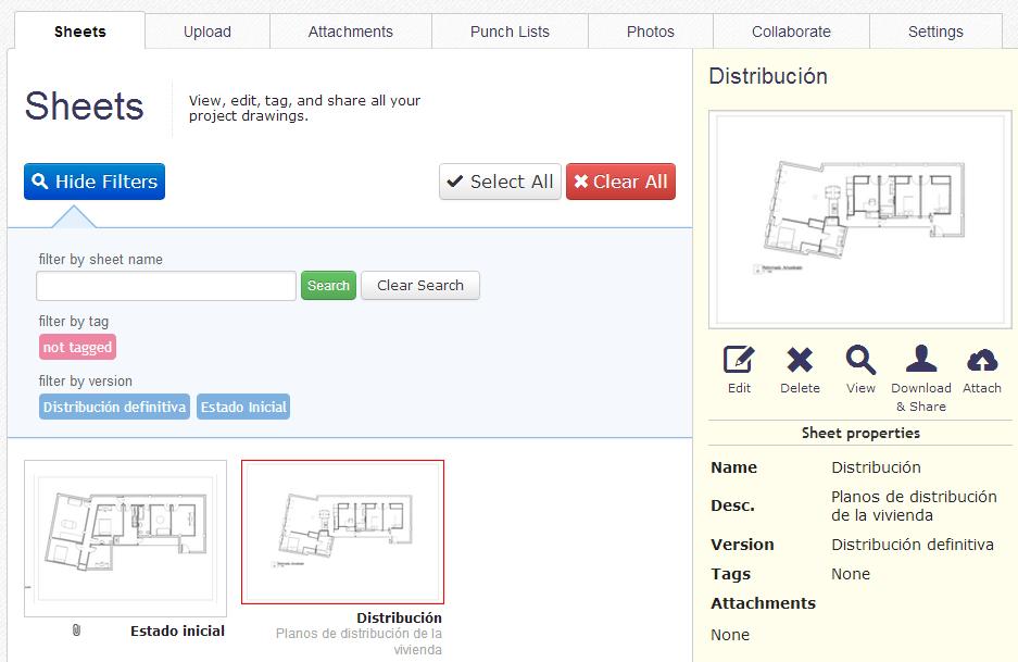 Apps de Construcción - PlanGrid gestión de planos