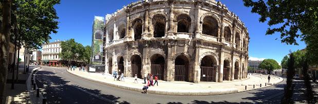 Амфитеатр или Арена Нима (Arènes de Nîmes) Достопримечательности Нима (Nîmes)