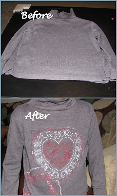 Kids Refashion a plain T-shirt with stamping