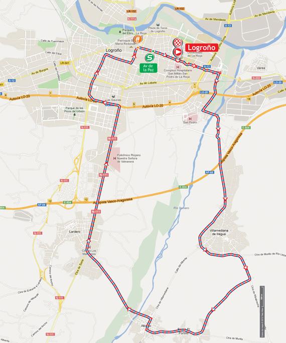La Vuelta 2012. Etapa 5. Logroño – Logroño. @ Unipublic