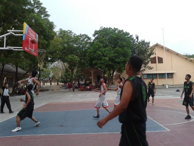 Basket di Pekan Olah Raga Kabupaten Gunungkidul 2012