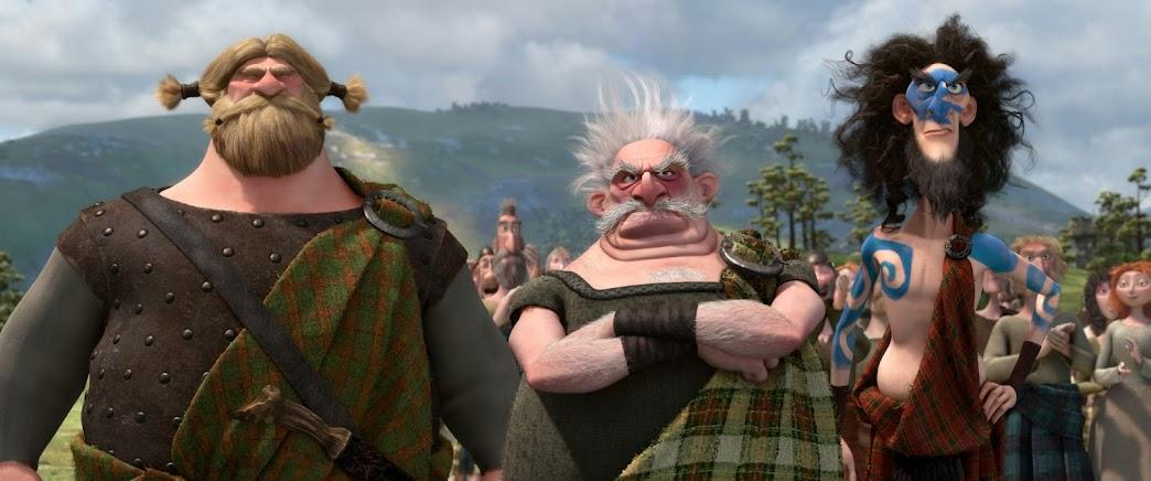 "Disney/Pixar's ""BRAVE"" Suitors"