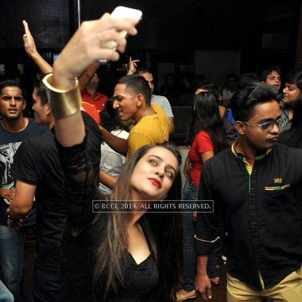 A still from the party held at Underground, in Kolkata.