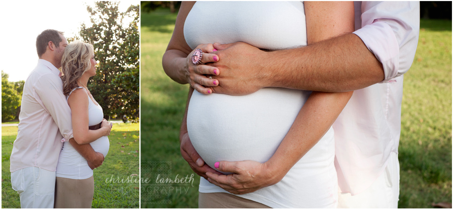 Maternity couple photos
