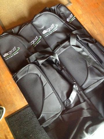 DK golf bag bmx bike travel bag