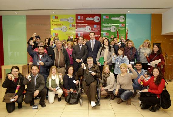 Entregadas 34 viviendas de especial necesidad del IVIMA y Plan Joven en Móstoles